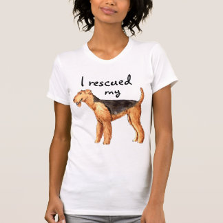 Rescue Airedale T-Shirt
