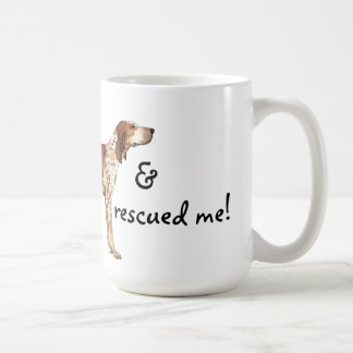Rescue American English  Coonhound Coffee Mug