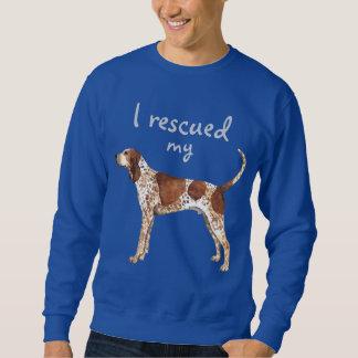 Rescue American English Coonhound Sweatshirt