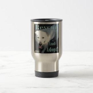Rescue and Adopt! Travel Mug