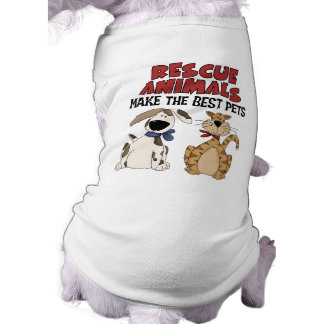 Rescue Animals Gifts Pet Tee Shirt