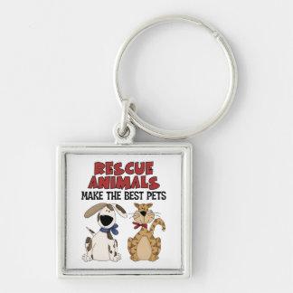 Rescue Animals Gifts Keychain
