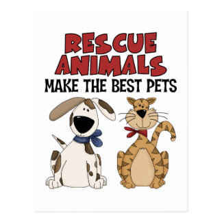 Rescue Animals Gifts Postcard