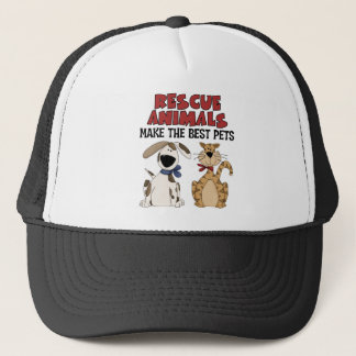 Rescue Animals Gifts Trucker Hat