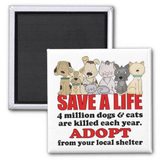 Rescue Animals Magnet