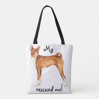 Rescue Basenji Tote Bag