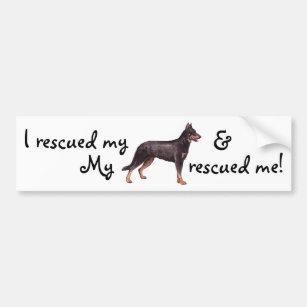 Rescue Beauceron Bumper Sticker