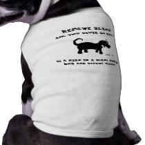 Rescue Black Dogs Dog Shirt