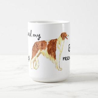 Rescue Borzoi Coffee Mug