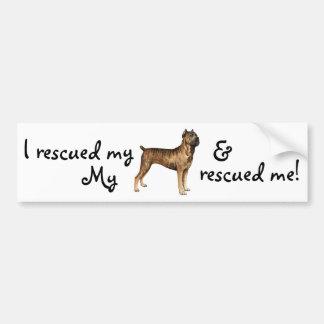 Rescue Cane Corso Bumper Sticker