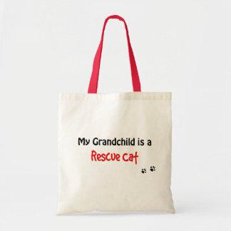 Rescue Cat Grandchild Tote Bag