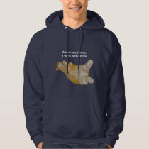 Rescue cats give you a warm, fuzzy feeling Hoodie