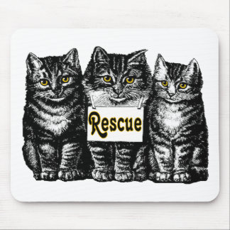 Rescue Cats Mouse Pad