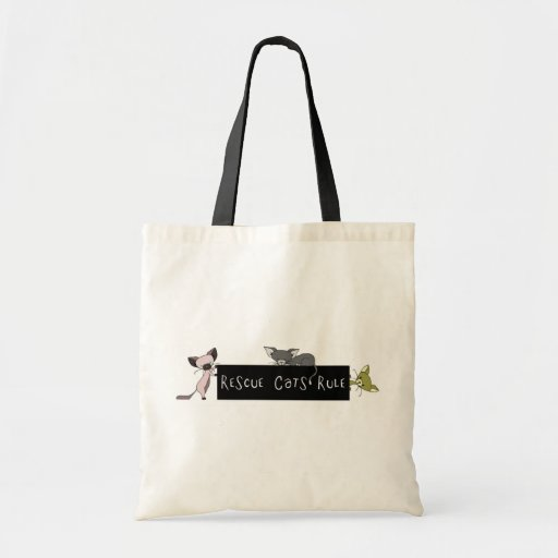 Rescue Cats Rule! Bags