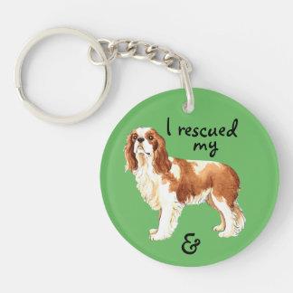 Rescue Cavalier Keychain