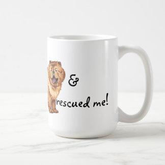 Rescue Chow Chow Classic White Coffee Mug