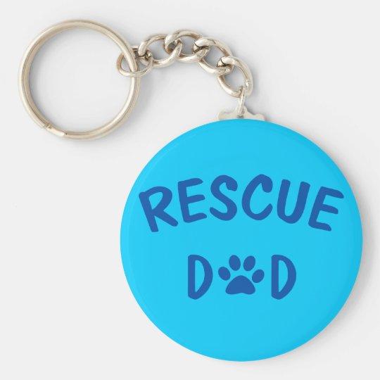 Rescue Dad Keychain