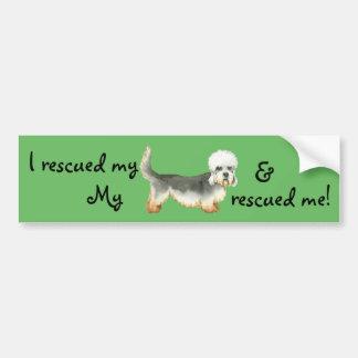 Rescue Dandie Bumper Sticker