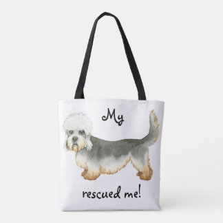Rescue Dandie Tote Bag