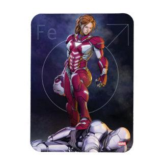 Rescue Defeating Superior Iron Man Magnet