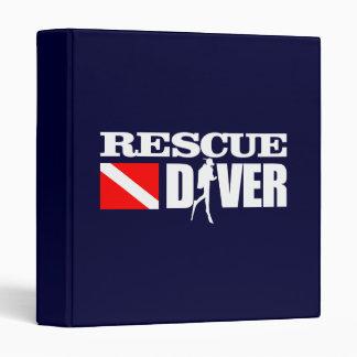 Rescue Diver 2 3 Ring Binder