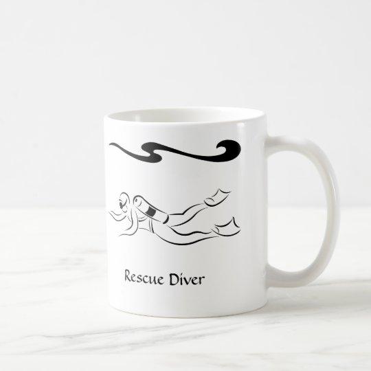Rescue Diver Coffee Mug