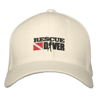 Rescue Diver (Embroidered Cap) Embroidered Baseball Caps
