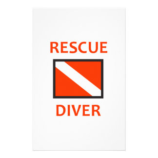 RESCUE DIVER STATIONERY