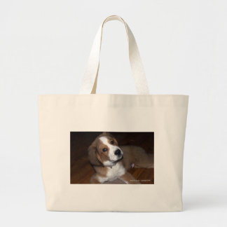 Rescue Dog Buddy Implores You Tote Bags