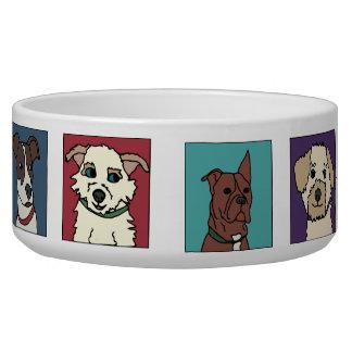 Rescue Dog Cartoon Bowl
