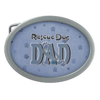 Rescue Dog DAD Belt Buckle