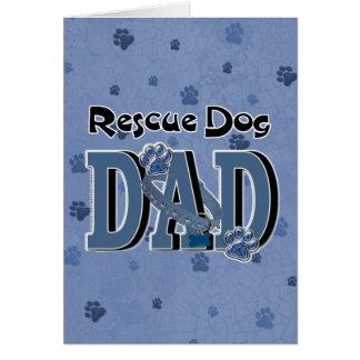 Rescue Dog DAD Card