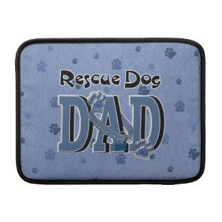 Rescue Dog DAD MacBook Air Sleeves