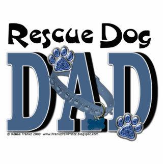 Rescue Dog DAD Photo Cutout