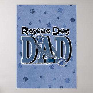 Rescue Dog DAD Print