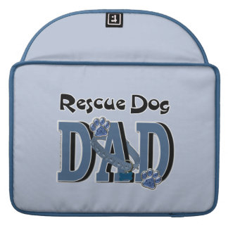Rescue Dog DAD Sleeve For MacBooks