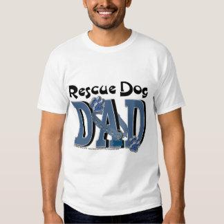Rescue Dog DAD Tshirts