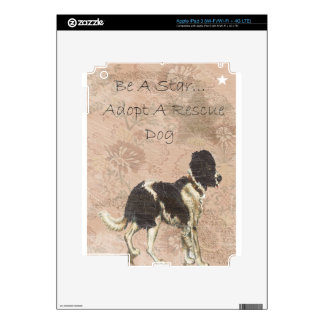 Rescue Dog Decals For iPad 3