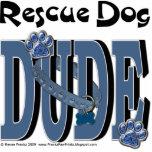 Rescue Dog DUDE Photo Sculptures