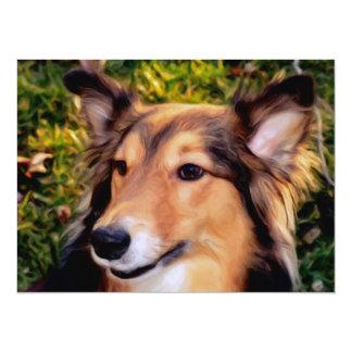 Rescue Dog Invitation