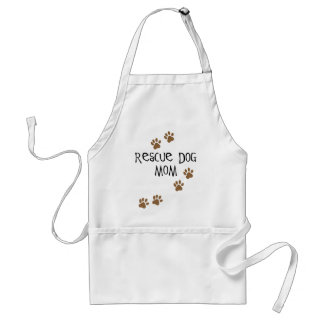 Rescue Dog Mom Adult Apron