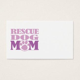 Rescue Dog Mom Business Card