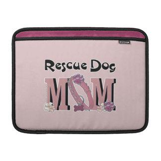 Rescue Dog MOM MacBook Sleeves