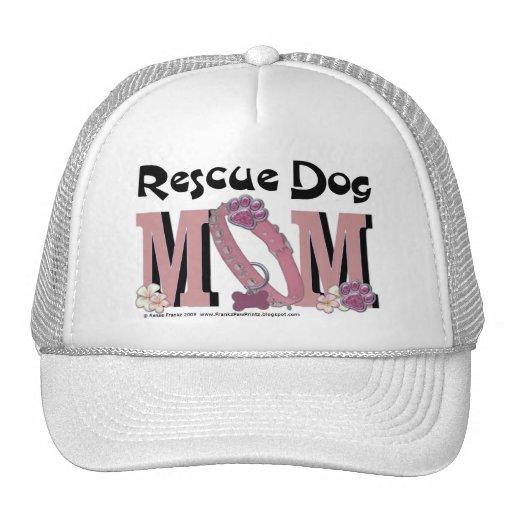 Rescue Dog MOM Mesh Hats