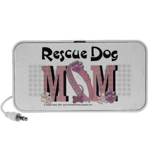 Rescue Dog MOM Mini Speakers