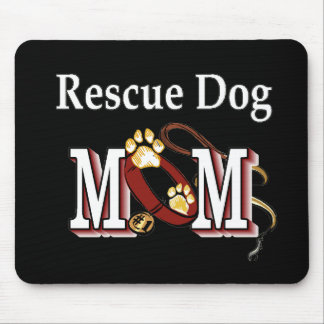 Rescue Dog Owners Gifts Mouse Pads