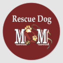 Rescue Dog Owners Gifts sticker