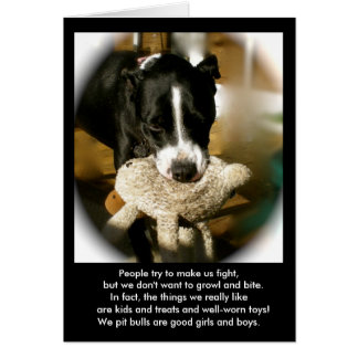 Rescue Dog Poetry Greeting Card