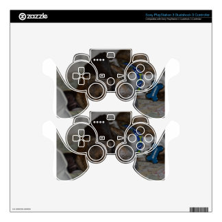 RESCUE DOG PS3 CONTROLLER DECAL