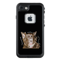 Rescue Dog Quote LifeProof Case for Apple iPhone